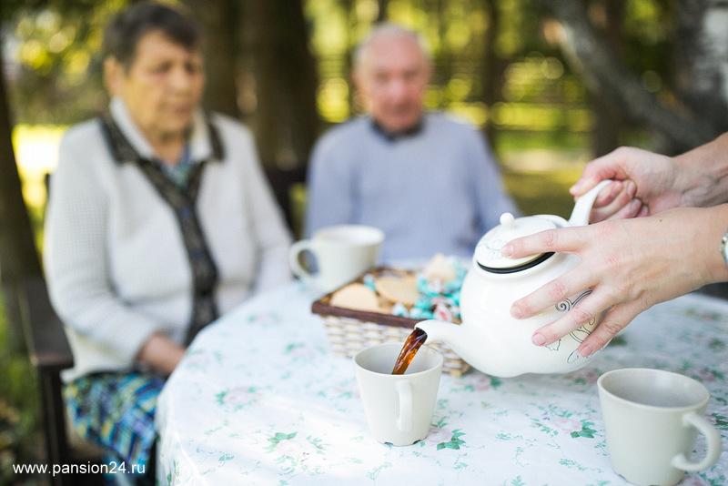 день пожилого человека в доме престарелых