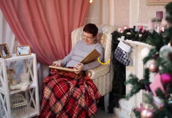 новый год акция в доме престарелых