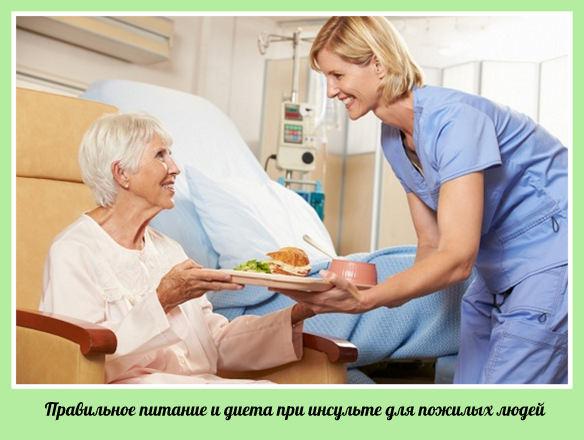 питание при инсульте пожилых людей дом престарелых