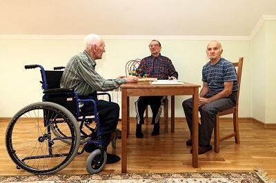 Дом престарелых и инвалидов в Москве
